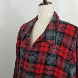 BFA Classics Jackets & Coats - 🌻 BFA Classics Wool Blend Plaid Blazer Jacket 18P